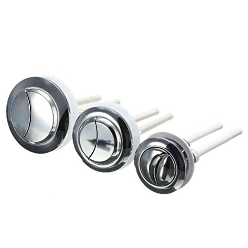 Funkelnden Sterne Kunststoff Dual Flush WC-Wassertank Push Button mit 2Stab für 38/48/58mm Loch, L-58MM