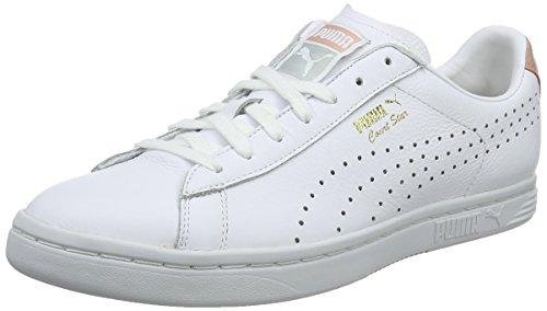 Puma Unisex-Erwachsene Court Star NM Sneaker, Weiß White-Peach BEIGE-Gold, 37.5 EU