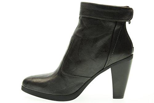 BLACK GARDENS Frau Stiefel mit Absatz A615970D / 109 Piombo