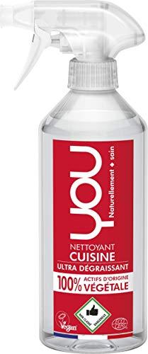 You Küchenreiniger mit Fettlöseformel, 100% Pflanzliche Wirkstoffe, 500 ml