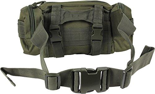 Einsatz Gürteltasche mit vielen Taschen kleine Ausführung in verschiedenen Farben OLIV