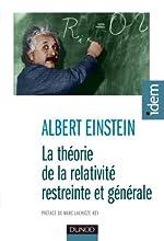 La théorie de la relativité restreinte et générale - 2e éd. de Albert Einstein