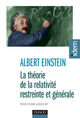 La théorie de la relativité restreinte et générale - 2e éd. par Albert Einstein