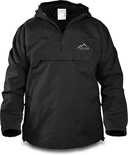 normani Winddichte Funktions-Jacke für Damen und Herren von S-4XL Farbe Black Größe S