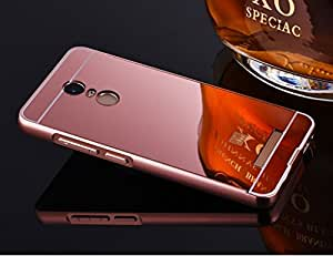 Mobile Mart Mirror Back Cover Case for Xiaomi Redmi Note 3- Rose Gold