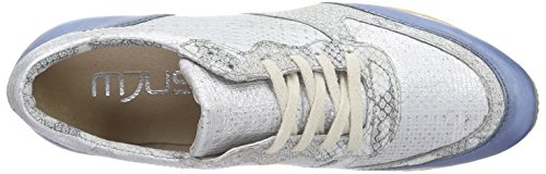 Mjus 646109, Sneakers basses femme Multicolore (Jeans/Bianco/Iceberg/Bianco)
