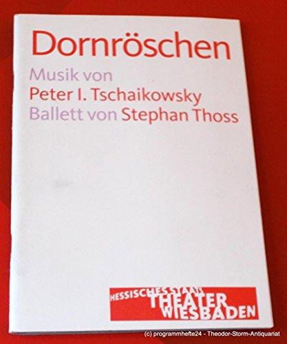Programmheft DORNRÖSCHEN. Ballett von Stephan Thoss. Premiere 11. April 2010. Spielzeit 2009 - (Dornröschen Ballett Kostüme)