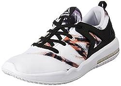 Reebok Womens Hexalite X Glide Gr Black, White and Coal Running Shoes - 7 UK/India (40.5 EU)(9.5 US)