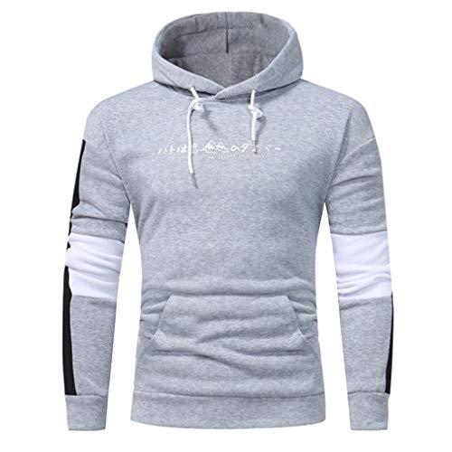 Amlaiworld homme ❤️Sweatshirt Hommes Automne Hiver Sweat à Capuche à Capuche Retro Tops Veste Manteau Outwear Pullover