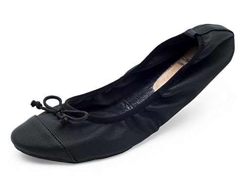 Zapatos plegables para el bolso CatMotion, Bailarinas de señora, Bailarinas plegables, zapatos...