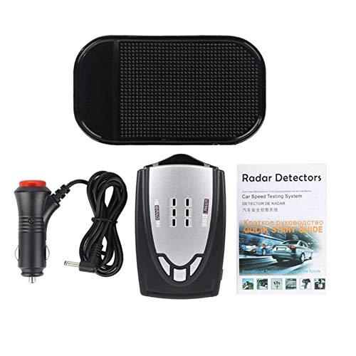 Comaie LED Auto Radar Geschwindigkeit 360° Automotive Tester Detektor 16 Band Fahrzeug unterstützt Englisch Russisch Dual Sprachen Kamera Tachometer Überwachung Maschine Erkennung System Alarm (überwachung 16-kamera-system)