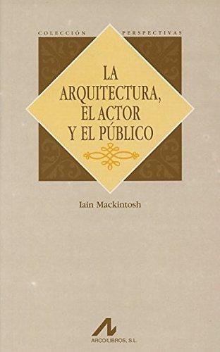 La arquitectura, el actor y el público (Perspectivas) por Iain Mackintosh