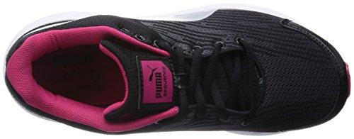 Puma Sequence W, Damen Laufschuhe Training Schwarz (Blk.Pumasilver)