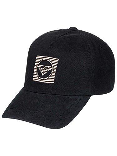 Roxy Extra Innings B HDWR KVJ0Baseball Cap Damen, anthracite-solid, fr: Einheitsgröße (Größe Hersteller:–) (Damen Schwarze Leder-baseball-cap)