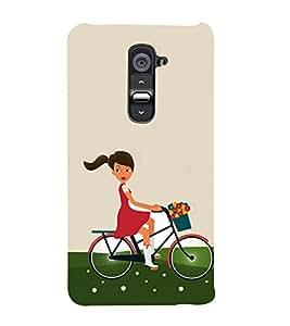 PrintVisa Beautiful Animated 3D Hard Polycarbonate Designer Back Case Cover for LG G2 :: LG G2 D800 D802 D801 D802TA D803 VS980 LS980
