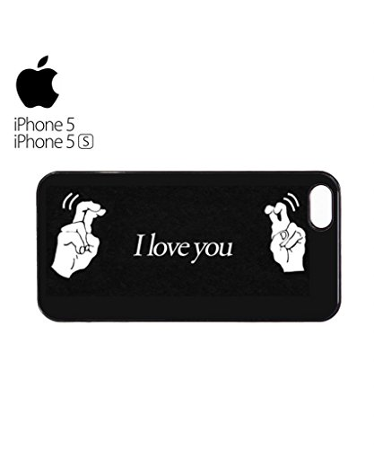 I Love You Pretending Lie Mean Cool Funny Hipster Swag Mobile Phone Case Back Cover Hülle Weiß Schwarz for iPhone 5c White Weiß