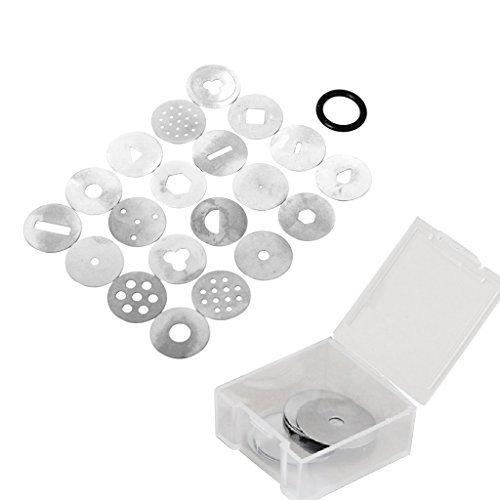5Five Tonpressen Clay Extruder Handwerk Maschine w 20 Extrusion / Scheiben Kuchen Zucker Kunsthandwerk Dekoration Werkzeug