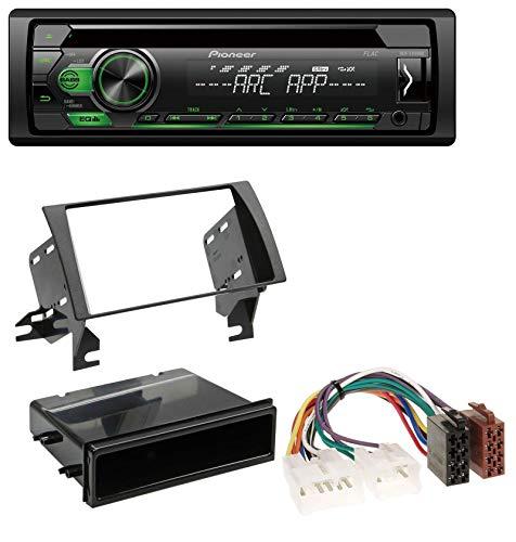 caraudio24 Pioneer DEH-S110UBG 1DIN CD MP3 USB AUX Autoradio für Toyota Camry (2002-2006) (Camry Aux Toyota 2004)