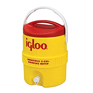 41d%2BjM93Q9L. SS300  - Igloo 2 Gallon Beverage Cooler 400 Series Unisex Adult, Yellow