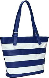 Utsukushii Women's Handbag(Blue) (BG518A)