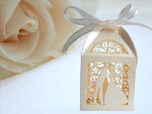 25-Ivory-Couple-Design-Luxury-Lase-Cut-Wedding-Sweets-Candy-Gift-Favour-Boxes-with-Ribbon-Table-Decorations