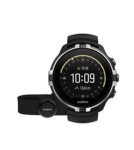 Suunto - Spartan Sport Wrist HR Baro - SS023402000 - Reloj GPS para Atletas Multideporte + Cinturón Frecuencia Cardiaca - Gris Stealth - Talla Única