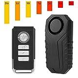 VBESTLIFE telecomando senza fili allarme bicicletta allarme blocco di sicurezza moto veicolo allarme allarme sirena