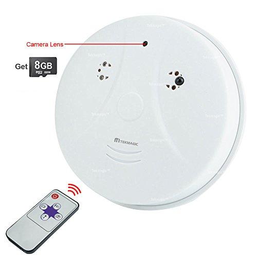 Versteckte Haus (TEKMAGIC 8GB 720P HD Versteckte Spionage Kamera Getarnte überwachungskamera mit Aufzeichnung und Bewegungsmelder für Hause)