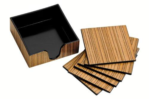 premier-housewares-juego-de-posavasos-6-unidades-revestimiento-de-madera