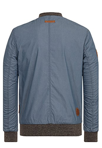 Naketano Male Jacket Der Bumser Steel