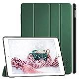 EasyAcc Hülle für iPad Air 2, Ultra Slim Cover Schutzhülle PU Lederhülle mit Standfunktion/Auto Sleep Wake Up Funktion Kompatibel für iPad Air 2 2014 Modell Number A1566/A1567 - Grün