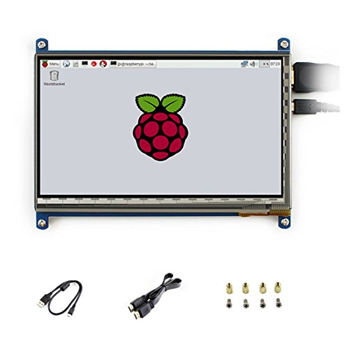 7 inch C LCD 1024 * 600 Rev2.1 Touch Screen Windows 10 HDMI Interface Capacitive Monitor Display for Raspberry pi3B+/3B/2 B/B+/A
