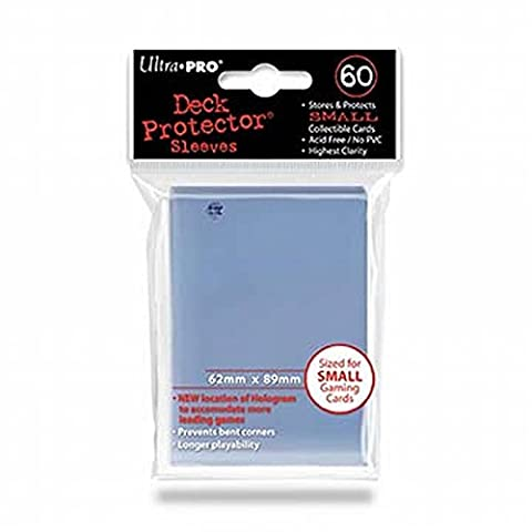 Ultra Pro 82962 - Deck Schutz Small Sleeves 60, clear