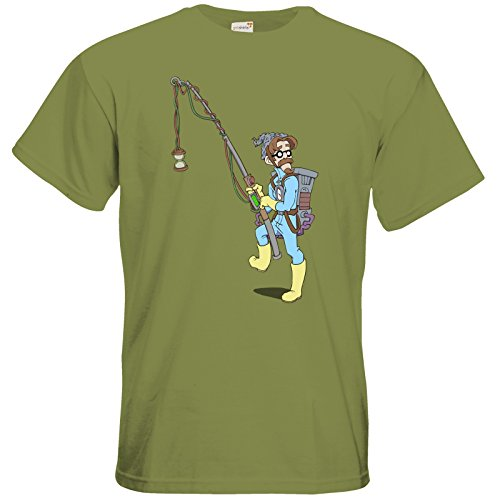 getshirts - Daedalic Official Merchandise - T-Shirt - Deponia Doomsday - McChronicle Green Moss
