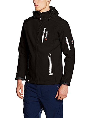 Geographical Norway Herren Jacke Tevet Men Color Schwarz