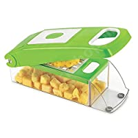 EVEN - Easy To Use Fruit & Vegetable Cutter,Chopper, Dicer,Grater, Slicer, vegetable slicer, vegetable pillar,vegetable knife BY EVEN SPECIAL OFFER GET FREE 01 PCS OF EVEN CHILLY CUTTER TRANSPARENT.
