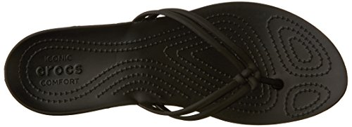 Crocs Isabella, Tongs Femme Black/black