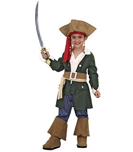 Imagen de disfraz de pirata caribeño 5 6 años para niño