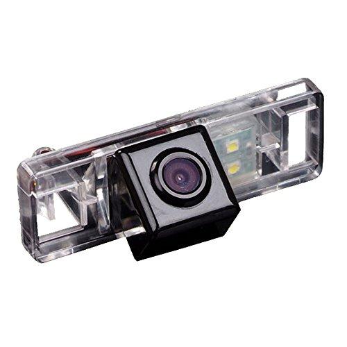 Rückfahrkamera fahrzeugspezifische Kamera unauffällig integriert Kennzeichenbeleuchtung Nummernschildbeleuchtung für Sunny Qashqai X-Trail Geniss Pathfinder Dualis Navara Juke C4 C5 C-Triomphe