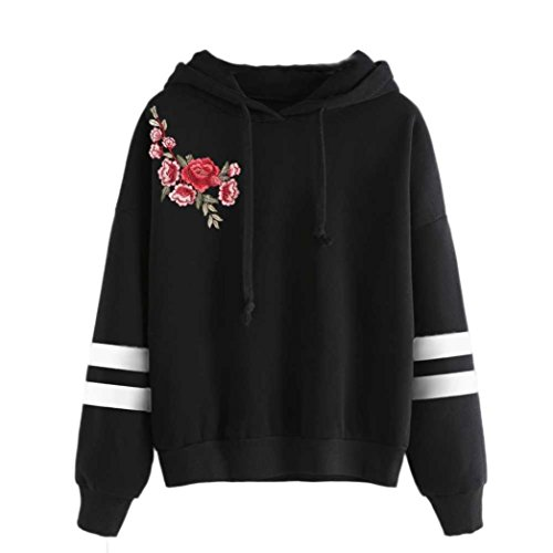 Damen Hoodie Xinan Langarm Sweatshirt Jumper Mit Pullover Bluse (XL, (Kostüme Edc)