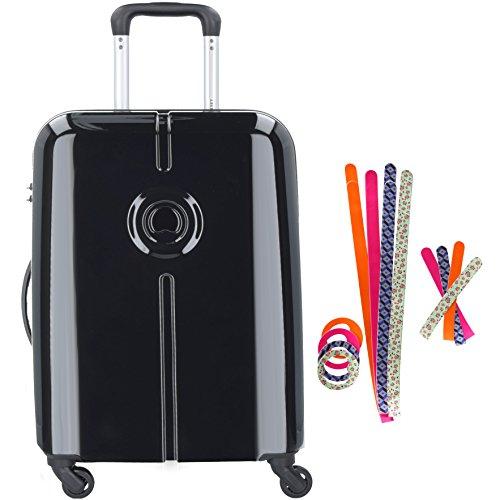 delsey-paris-flaneur-custom-bagage-cabine-50-cm-44-l-noir