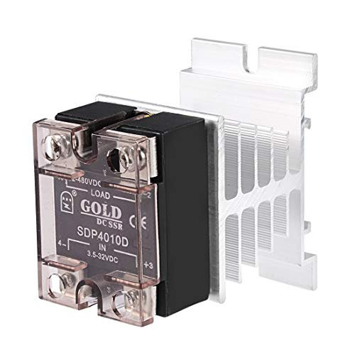 ZCHXD SDP4010D DC 3.5-32V to DC 12-480V 10A Single Phase Solid State Relay Module DC to DC -