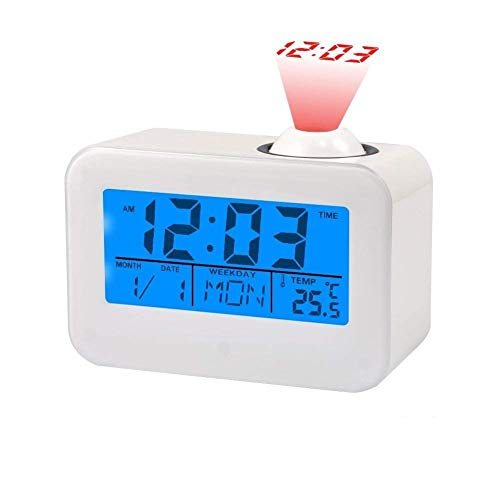 Relojes Proyección Pantalla LCD Reloj Despertador