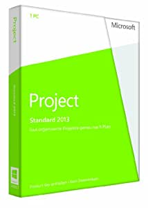 Microsoft Project 2013 - 1PC (Product Key Card ohne Datenträger)