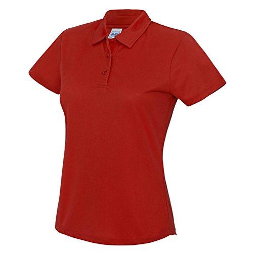 AWDis - T-shirt - Moderne - Femme rouge feu