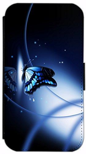 Flip Cover für Apple iPhone 6 / 6S (4,7 Zoll) Design 283 Sterne Abstract Bunt Hülle aus Kunst-Leder Handytasche Etui Schutzhülle Case Wallet Buchflip mit Bild (283) 290