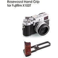 Kamerar Fujifilm X100T X-100T X-100S X-100 Rosewood Hand Grip black L-Bracket