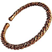"Magnetischer gedreht massiv Kupfer Armband - 2 Armbanduhr Größen - CCB -mb12 - Medium - 172mm (6 3/4"") to 195mm... preisvergleich bei billige-tabletten.eu"