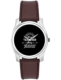 BigOwl It's A Teacher Thing You Won't Get It | Best TEACHER Gift Fashion Watches For Girls - Awesome Gift For...