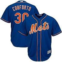 Camiseta Deportiva Baseball Jersey Major League Baseball Mets # 30 New York Mets,Blue,Men-XL